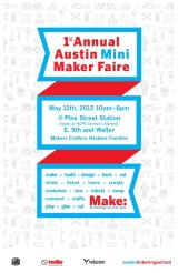 'Lil Tchotchkes will be at the Austin Mini Maker Faire!!
